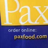 Photo taken at Pax Wholesome Foods by April P. on 8/12/2012
