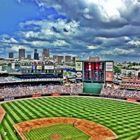 Photo taken at Turner Field by Eric P. on 5/28/2012