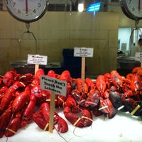 Photo taken at Lobster Place by Sean H. on 5/10/2012