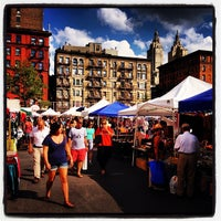 Photo taken at Columbus Ave Flea Market by Robert C. on 8/12/2012