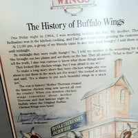 Photo taken at National Buffalo Wing Hall Of Fame by Dan M. on 8/18/2012