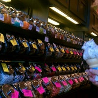 Photo taken at Knoke's Chocolates and Nuts by Rebecca Lynne B. on 8/10/2012