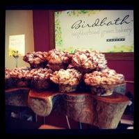Photo taken at Birdbath Neighborhood Green Bakery by Amanda A. on 7/3/2012