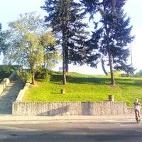 Photo taken at Park Moczydło by Bartosz R. on 4/30/2012