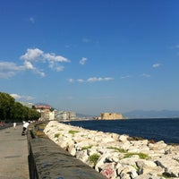 Photo taken at Lungomare di Napoli by Marco R. on 8/11/2012