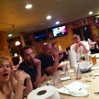 Photo taken at Hilltop BBQ by Adam G. on 8/15/2012