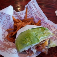 Photo taken at Red Robin Gourmet Burgers by Robert G. on 3/23/2012