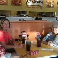 Photo taken at Crispers Fresh Salads, Soups and Sandwiches by Sharon L. on 5/10/2012