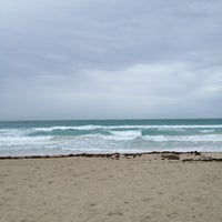Photo taken at 2nd Street Beach by Paul B. on 4/21/2012