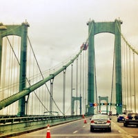 Photo taken at Delaware Memorial Bridge by DM on 7/20/2012