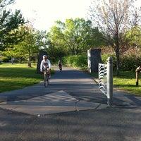 Photo taken at Minuteman Commuter Bikeway by Doc S. on 5/6/2012
