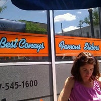 Photo taken at Mark's Midtown Coney by Nathan on 6/23/2012