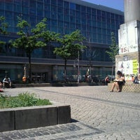 Photo taken at Hermannplatz by Marjory S. on 5/25/2012