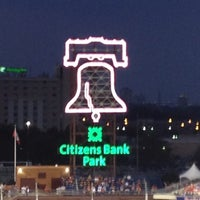 Photo taken at Citizens Bank Park by Mark on 8/23/2012