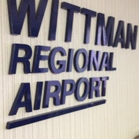 Photo taken at Wittman Regional Airport (OSH) by Rose D. on 3/30/2012