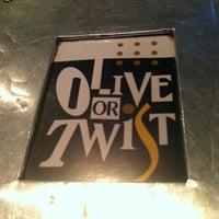 Photo taken at Olive or Twist by Jennifer J M. on 8/30/2012