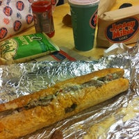 Photo taken at Jersey Mike's Subs by Dj K. on 8/13/2012