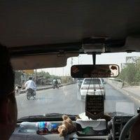 Photo taken at Sohrab Goth Bridge by Saqib K. on 4/15/2012