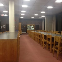Photo taken at Mugar Library by emma t. on 3/1/2012