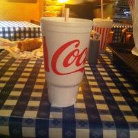 Photo taken at Portillo's by Jennie C. on 4/14/2012