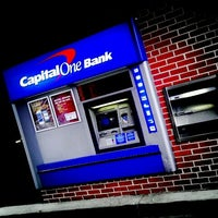 Photo taken at Capital One Bank by Nakeva (Photography) C. on 2/4/2012