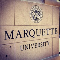 Photo taken at Marquette University by Father M. on 7/18/2012