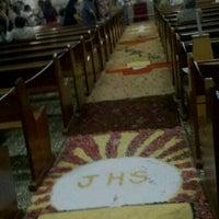 Photo taken at Igreja da Varzea by Andson B. on 4/1/2012