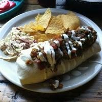 Photo taken at Black Cat Burrito by Ben C. on 5/10/2012