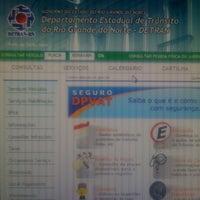 Photo taken at Departamento Estadual de Trânsito (DETRAN-RN) by André M. on 5/31/2012
