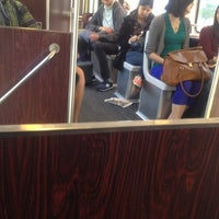 Photo taken at MBTA Green Line - B Train by Leah A. on 5/7/2012