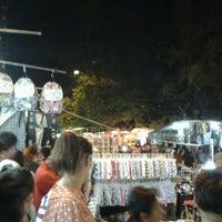 Photo taken at Saphanput Night Market by Pongsthorn R. on 2/18/2012