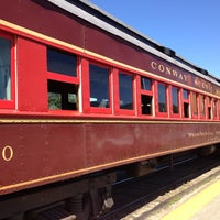 Photo taken at Conway Scenic Railroad by Zach B. on 6/15/2012