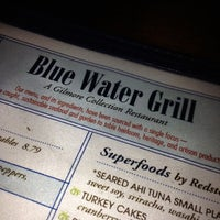 Photo taken at Blue Water Grill by Jeremy K. on 5/7/2012