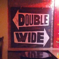Photo taken at Double Wide Bar & Southern Kitchen by Michael L P. on 8/6/2012
