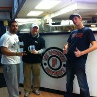 Photo taken at Fat Sandwich Company by Carol J. on 2/6/2012
