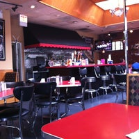 Photo taken at Deluxe Diner by Amanda on 8/12/2012