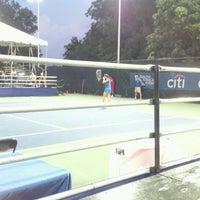 Photo taken at Rock Creek Tennis Center by Jeremy F. on 8/2/2012