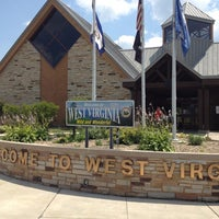 Photo taken at I-68 WB West Virginia Welcome Center by David Y. on 7/9/2012