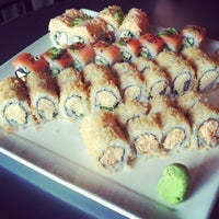 Photo taken at Blue Sushi Sake Grill by Christen on 5/12/2012