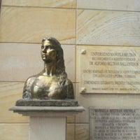 Photo taken at Universidad Manuela Beltrán by aSTRO1ooo on 8/24/2012