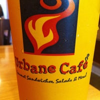 Photo taken at Urbane Cafe by Aaron B. on 7/1/2012