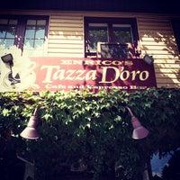 Photo taken at Tazza D'Oro Cafe & Espresso Bar by Antonio O. on 8/26/2012