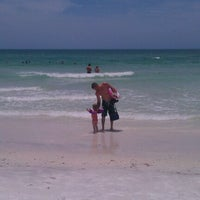 Photo taken at Coquina Beach by Rachael N. on 6/9/2012