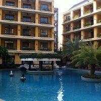 Photo taken at Mantra Pura Resort And Spa Pattaya by Ou U. on 6/22/2012