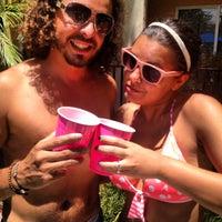 Photo taken at Alexan Solmar Pool by Gina B. on 6/16/2012
