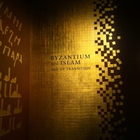 Photo taken at Byzantium and Islam: Age of Transition @ The Met by Javi Z. on 4/6/2012