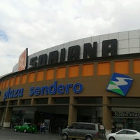 Photo taken at Plaza Sendero Escobedo by Rebeca M. on 7/13/2012