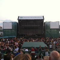 Photo taken at FirstMerit Bank Pavilion at Northerly Island by Vanessa J. on 7/10/2012
