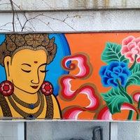 Photo taken at Namaste Cafe by Ben C. on 4/10/2012