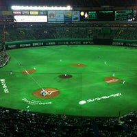 Photo taken at Fukuoka Yahuoku! Dome by hide_mina on 7/15/2012